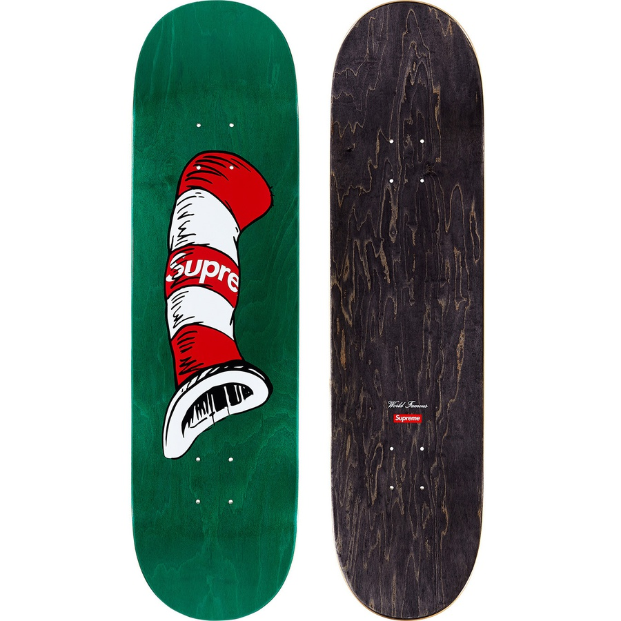 Supreme cat in the Hat Skateboard image